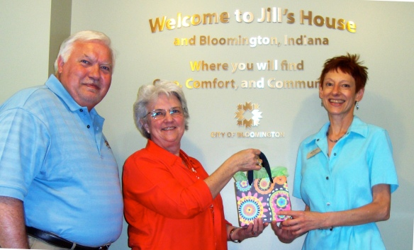 Jill's House is the May 2012 recipient